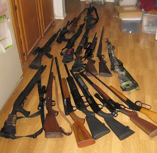 Guns from Dagney Gromer CC BY-NC-ND 2.0