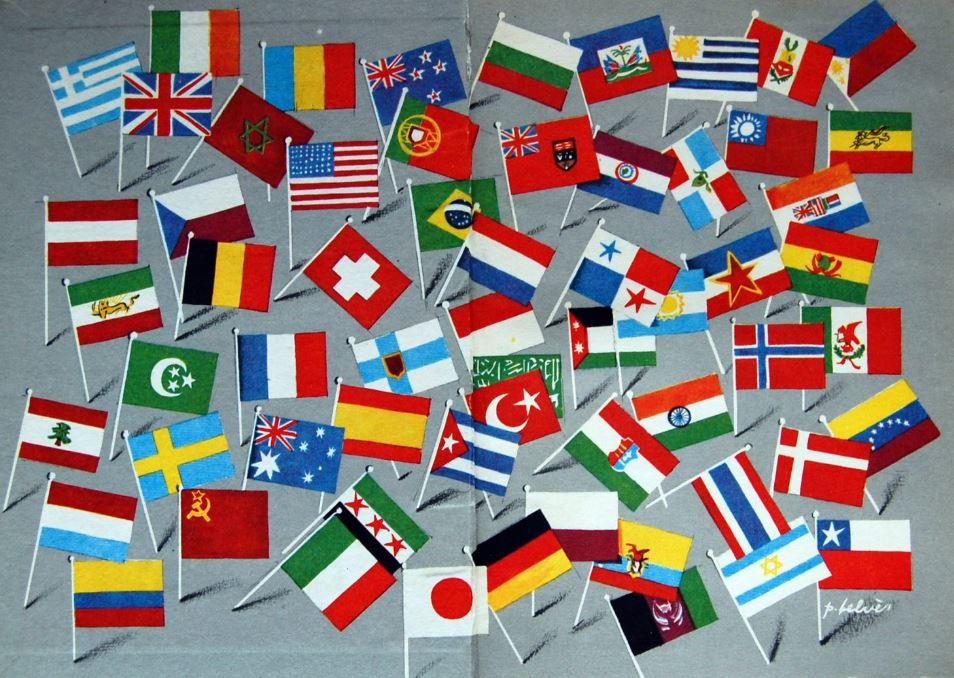 initernational flags